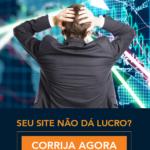 Capa do ebook: Seu site não dá lucro? Corrija agora estes 10 erros